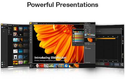 SlideRocket, besplatni online alat za izradu prezentacija