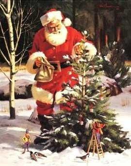 Božićne slike djed Mraz besplatne sličice čestitke download free e-cards Christmas Santa Claus