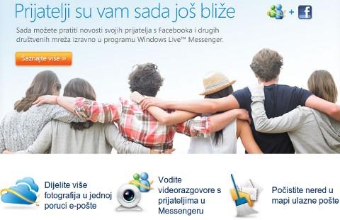 Novosti o programu Messenger i savjeti za Hotmail