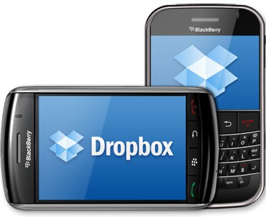 Download Dropbox BlackBerry mobiteli