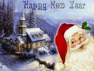 Novogodišnje čestitke Božićne slike djed Mraz besplatne slikice download free e-cards Christmas New year