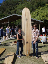 Wood Surfboard day