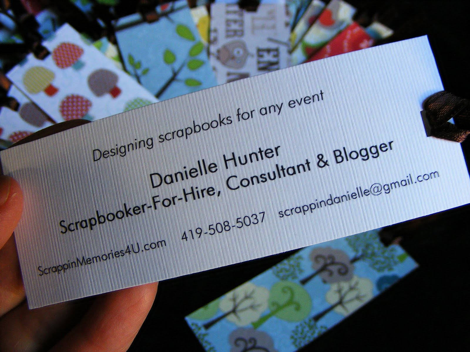tutorial eco friendly business card bookmarks