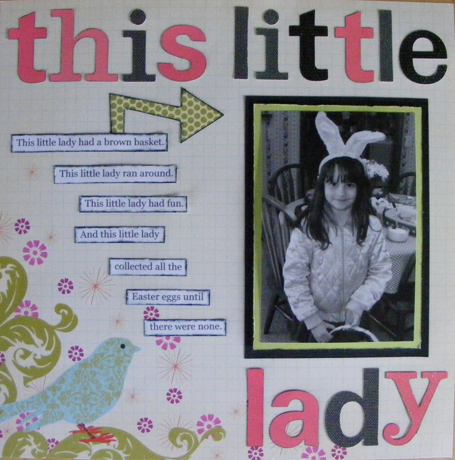 Scrapbook ideas recycled - Tweet Scrapbook Layouts