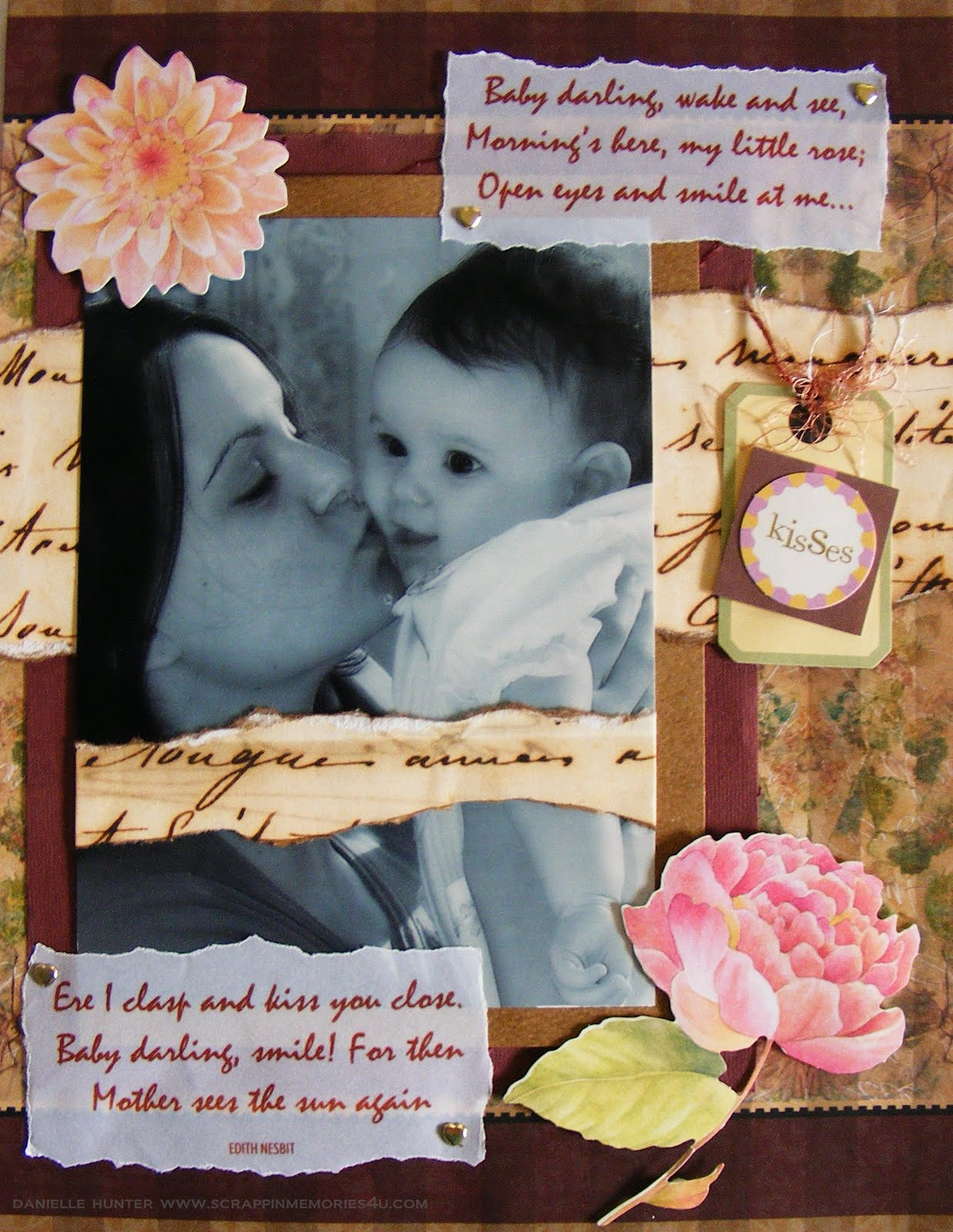 Snap Scrap Baby Scrapbook Layouts Journaling To Remember Your