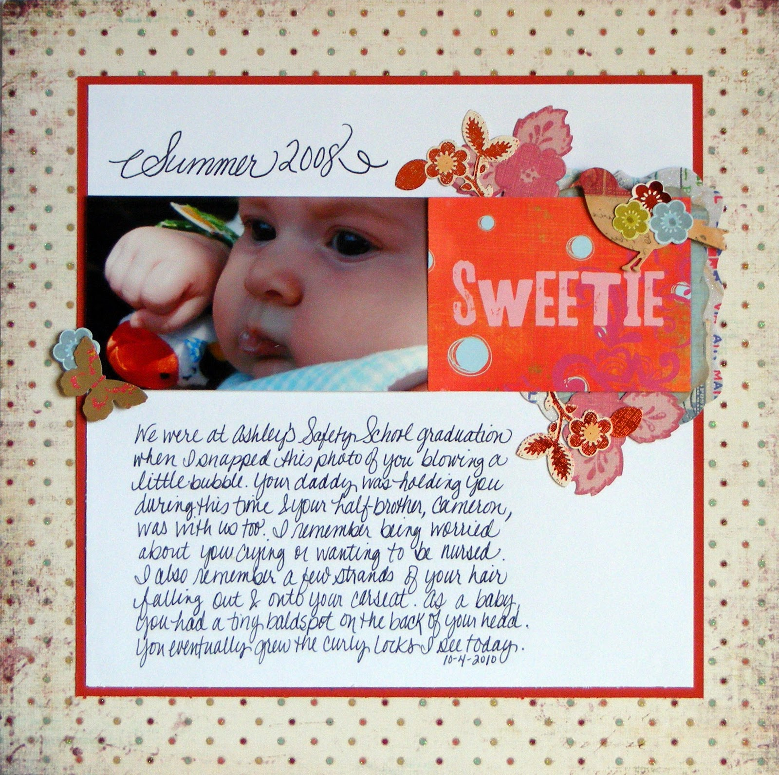 Baby journal scrapbook ideas - Baby Scrapbook Layouts Journaling To Remember Your Baby S Special Moments
