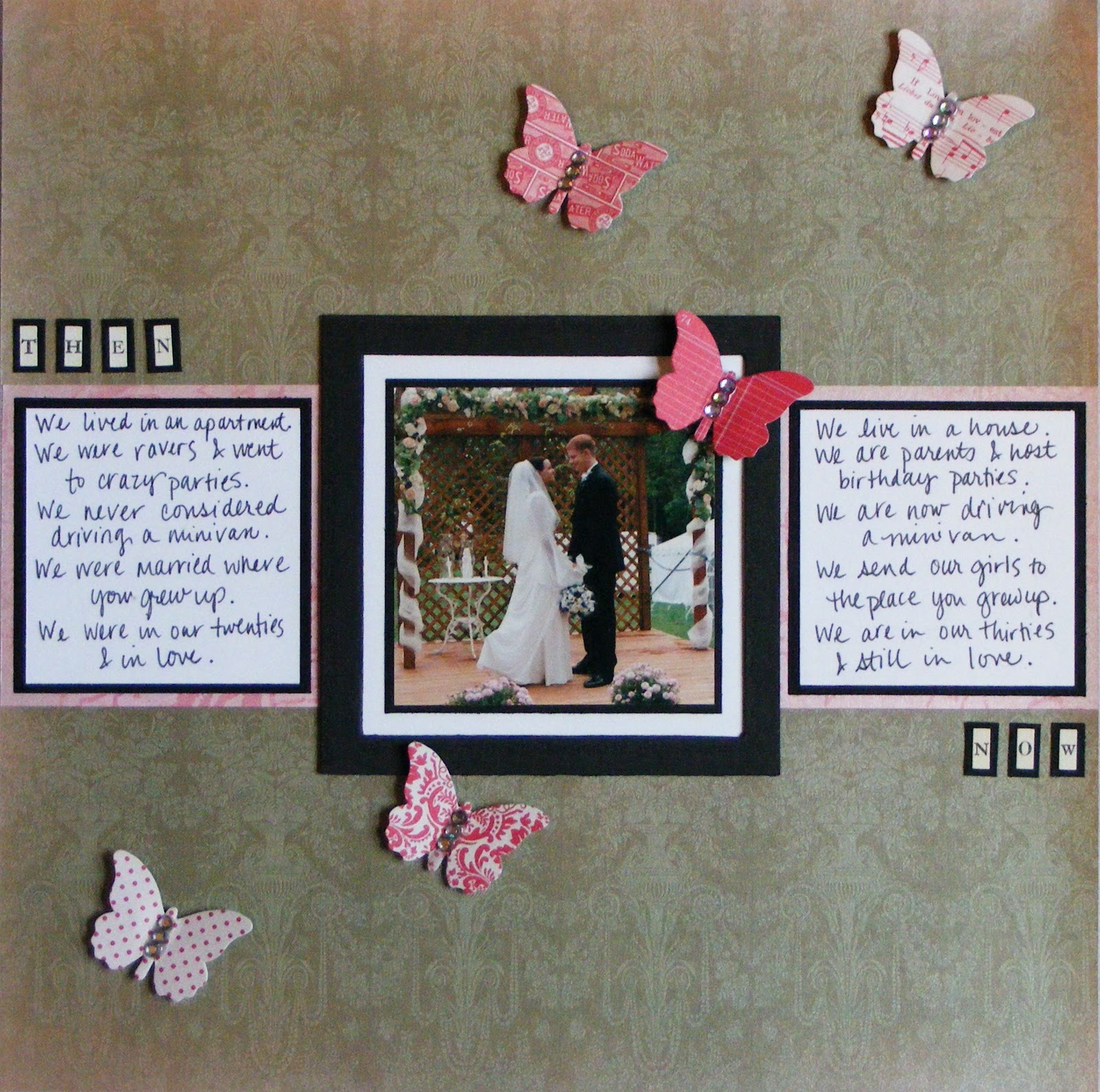 Scrapbook ideas honeymoon