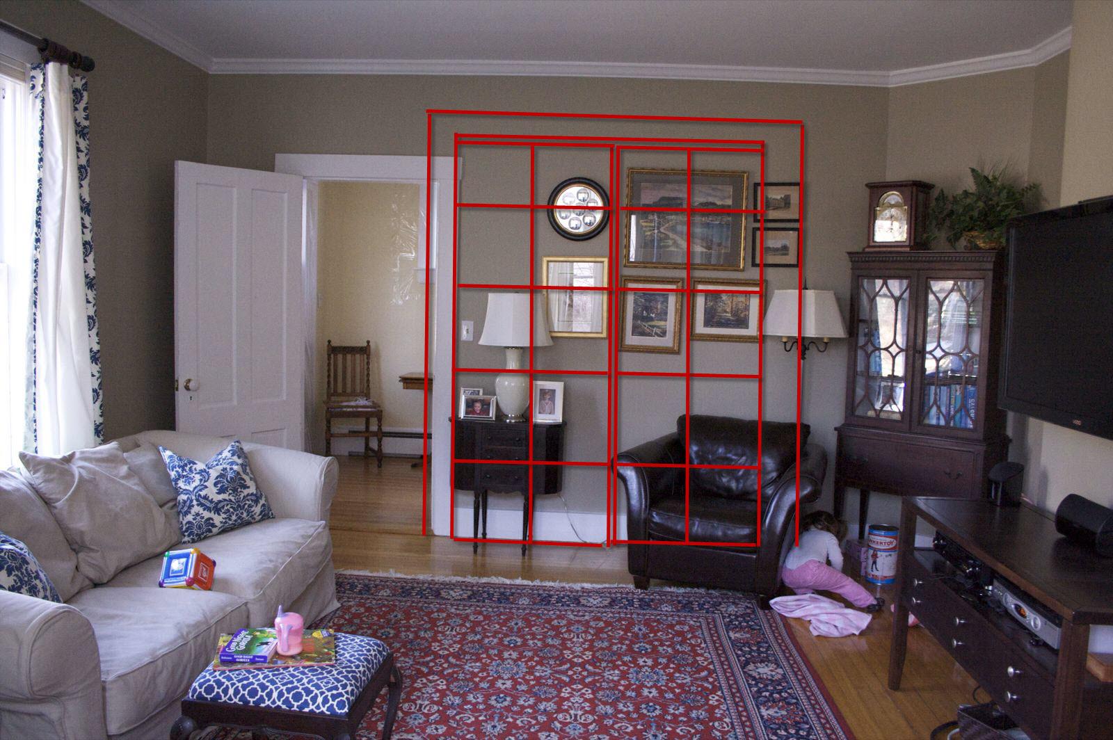 Door Opening Into Living Room Draft