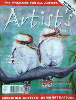 Maragaret McCosh in Artist's Palette Magazine IMG_0507+%28455+x+600%29