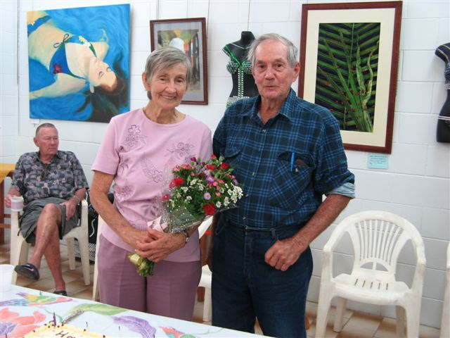 Happy Birthday Jean Haack - most senior Member Cooktown Art Jean+Haack+80th.+Birthday+019