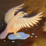 """Le corbeau blanc de """" l'Atelier Sauvage """"..."""
