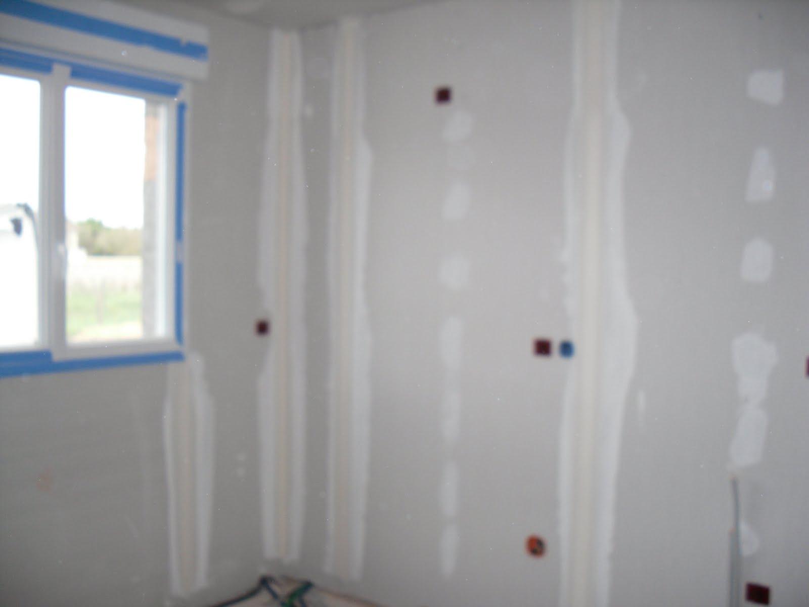 Construction de notre maison bande de placo - Bande de placo ...