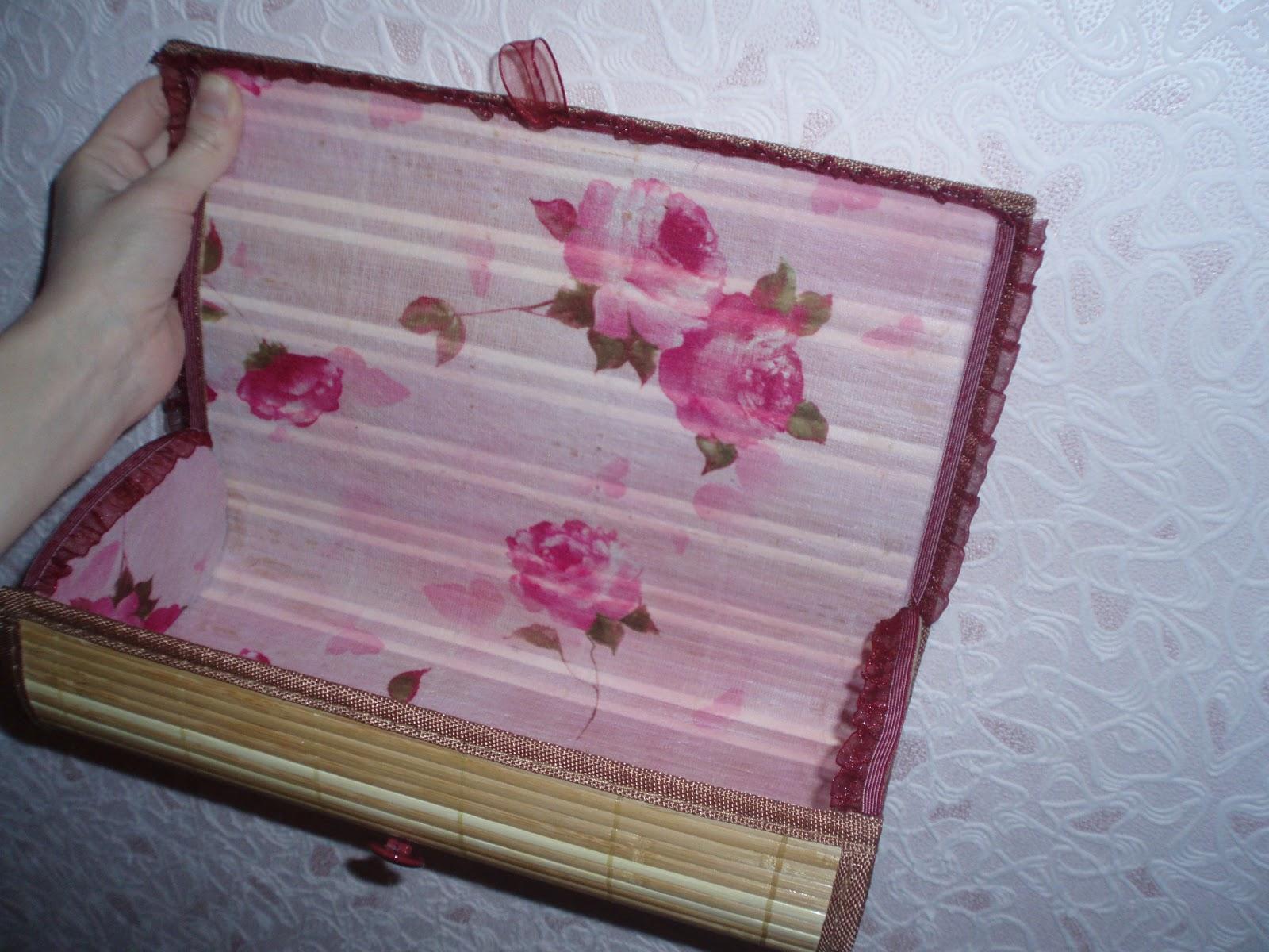 Шкатулки своими руками из бамбуковой салфетки