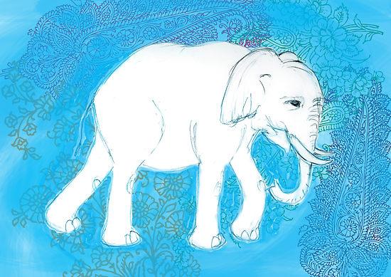 elefantul alb