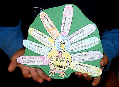 3rd Grade Thanksgiving Crafts