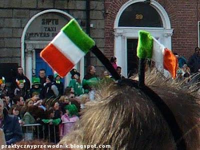 Dzień Świętego Patryka Dublin 17 marca