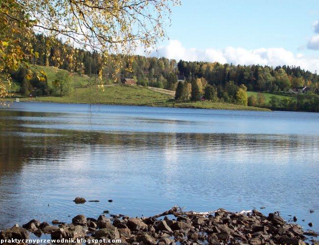 Jezioro Semsvannet w Norwegii