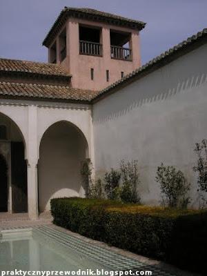 Alcazaba w Maladze foto mapa