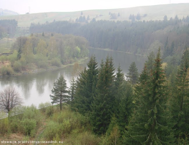 Jezioro Orawskie na Słowacji