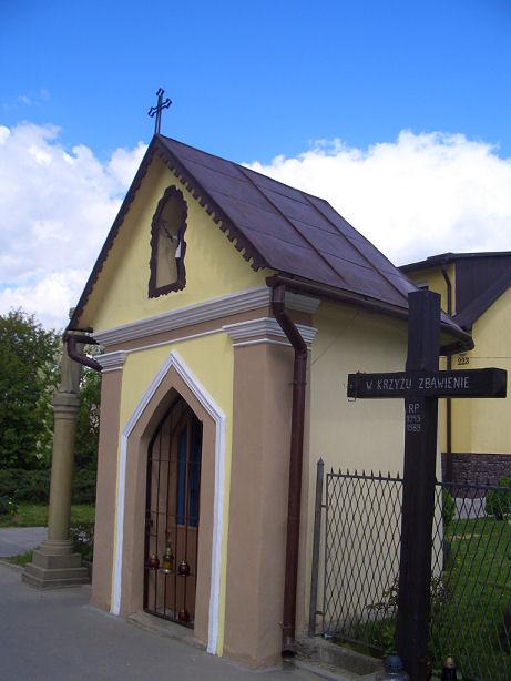 Kapliczka przy ulicy Lwowskiej w Nowym Sączu