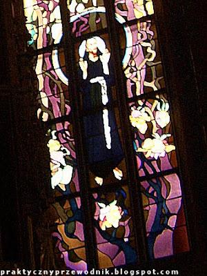 Wyspiański Franciszkanie Witraż