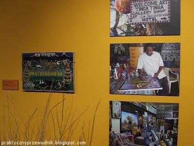 TINGATINGA Sztuka Tanzania