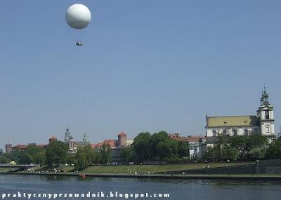 Balon z platformą widokową w Krakowie