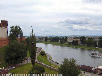 Panorama Krakowa z Hotelu pod Wawelem