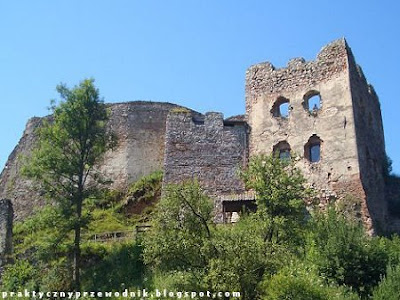 Zamek w Czorsztynie Pieniny