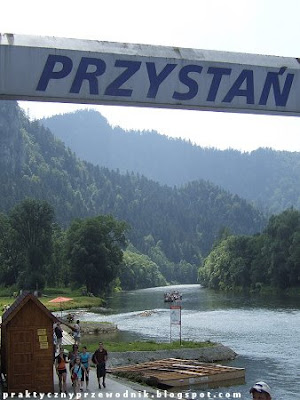 Dunajec Spływ przełomem Dunajca