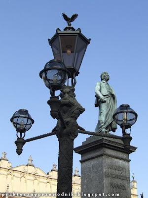 Pomnik Adama Mickiewicza Rynek Główny Kraków