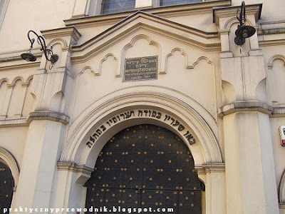 Synagoga Tempel Kraków Kazimierz