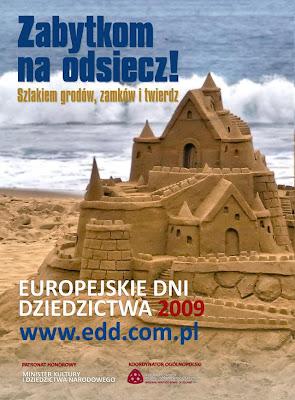 Europejskie Dni Dziedzictwa 2009 plakat ogólnopolski