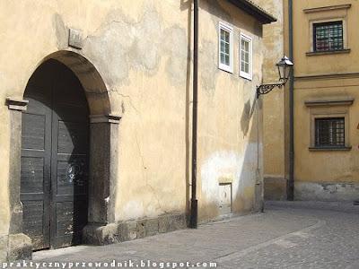 Stare Miasto Kraków Ulica Senacka w Krakowie