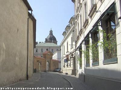 Stare Miasto Kraków Ulica Poselska w Krakowie
