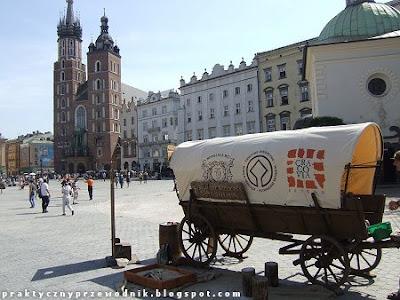 Kraków Rynek Główny Wieliczka Kopalnia Soli