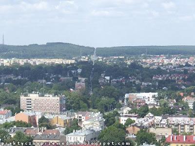 Chełm Góra Zamkowa taras widokowy dzwonnica