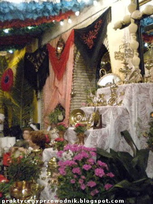 Cruces de Mayo (Święty Krzyż Maja) en Lebrija