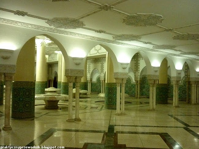 Casablanca Maroko meczet