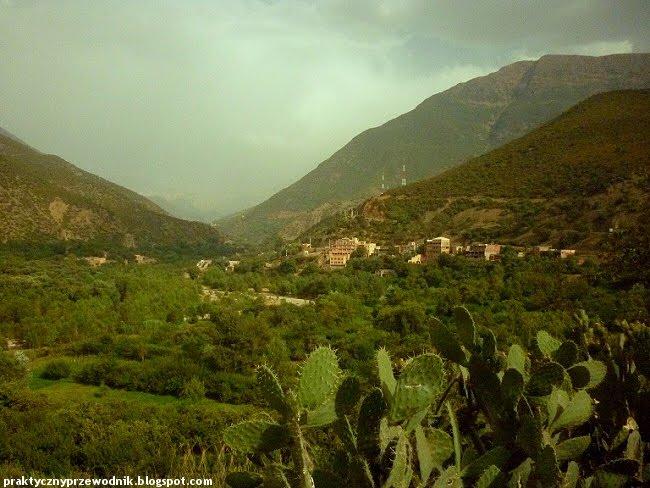 Góry Atlas w Maroku