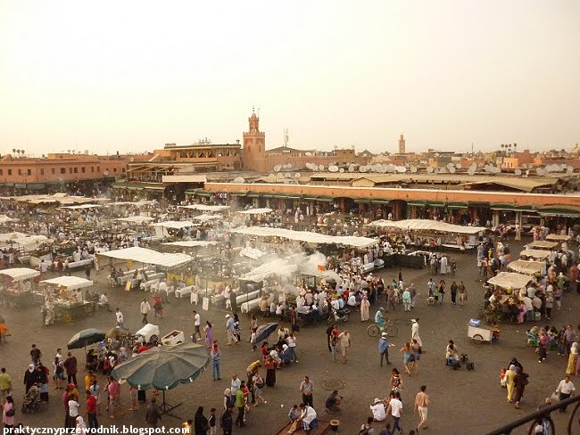 Marrakesz Główny Plac