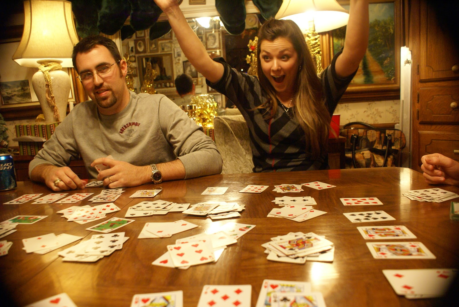 Image result for people playing card games