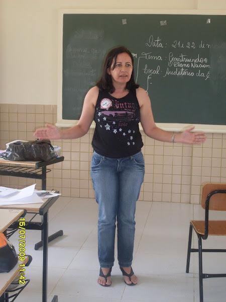 Professora de Língua Portuguesa Maria do Céu