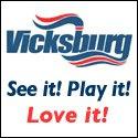 Vicksburg Steamboat Logo