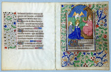 Mystical Encounter, Illuminated Manuscript