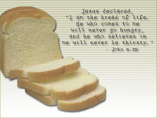 i am the bread comes to go and he who believes in me will never be verse pictures of Jesus Christ religious free download Christian inspirational images
