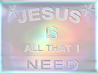 Jesus is all that I need letters background image for PowerPoint(PPT) templates and desktop Christian background Jesus Christ pictures and verse wallpapers free download