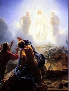 Jesus Christ as jesus christ ascension into heaven and angels in the sky photo free download religious image