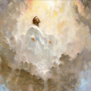 Jesus coming back to earth drawing art image