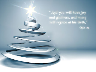 Christmas bible verse picture about Jesus birth(son of God) beautiful Christian desktop wallpapers free download